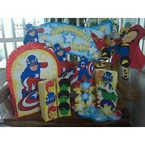 Fiestas Decoración, Piñatas Cotillones Combos Mesas Fantasia