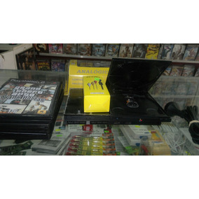 Ps2, Play 2 Chipeada + Joystick + Memory Card + 10 Juegos