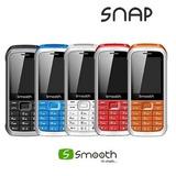Teléfono Smooth Snap Liberado, Doble Sim,twiter,color Rojo