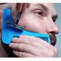 Peine Delineador De Barba Bigote 2 En 1 Tipo Beard Bro