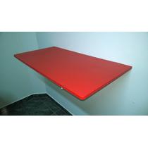 Mesa Bancada Cozinha Dobrável Parede Mdf 15m 60x45 Colorida