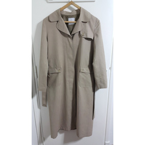 Piloto Impermeable Trench Mujer Portsaid Beige Casi Nuevo 363ea9f2d620
