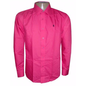 Camisa Social Ralph Lauren Pink Lisa Masculina