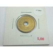 Moeda Japão 5 Yen - Lt0993
