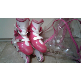 Rollers Infantiles Extensibles Niños + Bolso