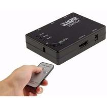 Switch Kvm Hdmi 3 Entradas 1 Salida 1080p + Control Remoto