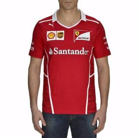 Remera Ferrari Team Original 2017 !!!
