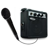 Microfono Karaoke + Mini Amplificador 5w + Correa P/niños