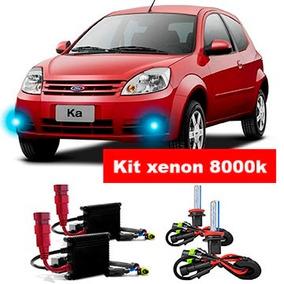 Kit Xenon Hb4 8000k Para Farol De Milha Ka 2008 A 2010