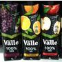 Kit Sucos Del Valle 100% Com 3 Sabores De 1 Litro