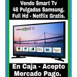 Tv 48´ Samsung Full Hd Led Mod.5200 C/caja - Escucho Oferta