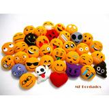 Kit 5 Chaveiros Emoji Emoticons Whatsapp - Presente Natal