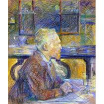 Lienzo Tela Vincent Van Gogh Henri Toulouse Lautrec 65 X 50