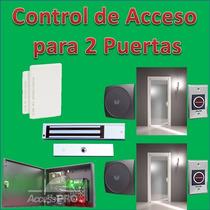 Panel De Control De Acceso Ip Para 2 Puertas Accesspro Y +++