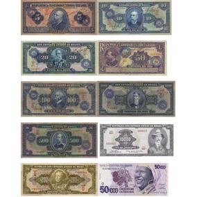 Réplicas Cédulas Cruzeiro E Baiana - 10 Cédulas - Lote 11