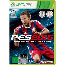 Pro Evolution Soccer 2015 Português X360 Mídia Física Novo