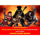 Guitar Hero - Nirvana Playstation 2 (kit 10 Jogos Ps2