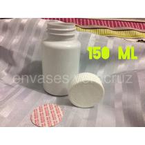 Envases Capsulero Tapa Y Sello De Seg. De 150ml Paq. De 25