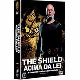 Dvd The Shield Acima Da Lei - 2ª Temporada 4 Dvds Original