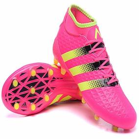 9e1c92a15b Chuteiras Adidas 2016 Cor Principal Fúcsia - Chuteiras para Adultos ...
