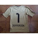 Camisa Botafogo Dourada Goleiro 1 Jefferson P