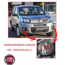 Farol Milha Neblina Auxiliar Fiat Novo Uno Original 2016 Dia
