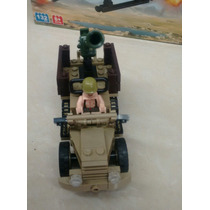 Juguetes Carro Militar Soldado Armables