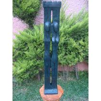Lrc Pareja Hombre Y Mujer, Arte Abstracto De Bronce.