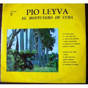 Afroantillana.pio Leyva El Montunero De Cuba, Lp12´,dvn