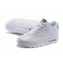 Nike Air Max Hyperfuse Blancas Y Rojas C/caja Entrega Ya!!
