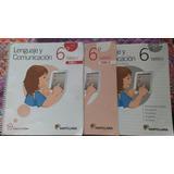 Libro Santillana Lenguaje Y Comunicacion 6