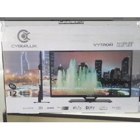 Tv Monitor Led 28 Pulgadas Hd Cyberlux