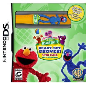 Plaza Sesamo Ready, Set, Grover! Ds Nuevo En Español Mdn