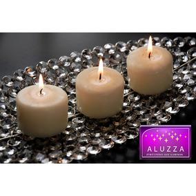 50 Cirios Decorativos Aluzza