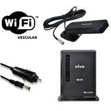 Roteador Wifi Veicular 3/4g 12v | 32usuários /mini Antena