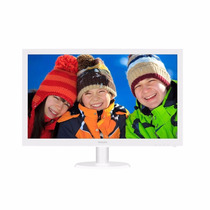Monitor Philips 223v5lhsw Led 21.5 Hdmi Full Hd Branco