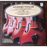 Clasica, Antonio Vivaldi 1, Felix Ayo, Vittorio Negri, Lp12´
