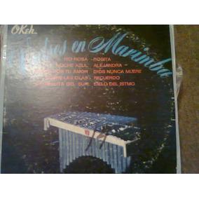 Disco Acetato De: Valses En Marimba