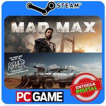 Mad Max + The Ripper Dlc Pc Steam Cd-key Envio Imediato