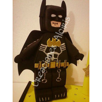 Batman Lego Centro De Mesa Recuerdo