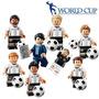 Seleção Da Alemanha Futebol Copa Mundo 2014 Lego Compatível