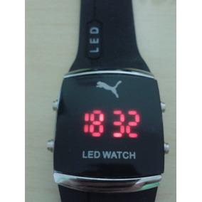 48aa7d6e448 Rel gio Puma Led Watch (pulseira Laranja) - Relógios no Mercado ...