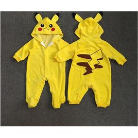 Fantasia De Carnaval Bebe Pikachu Pokemon Pronta Entrega