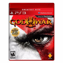 God Of War 3 Original Ps3 Mídia Física Lacrado + Brinde