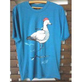 Camiseta Meia Malha Over Surf