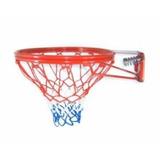 Aro Basketbal Doble Retractil Con Malla Baloncesto 45 Cm