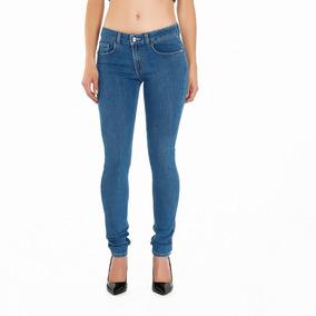 Jeans Oggi Carol Blak Skinny / Cintura Media 547 Mujer
