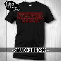 Gratis Envío Dhl ! Playera Stranger Things 02 Logo Netflix