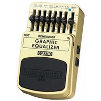 Eq700 Pedal Equalizador Behringer Eq 700 Para Guitarra