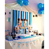 Candy Bar Mickey Minnie Golosinas Armado Ambientación X 30